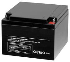 12 Volt 26Ah Deep Cycle Rechargeable Replacement Battery Wheelchair 12v