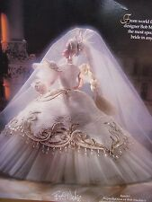 Bob Mackie Empress Bride 1992 Barbie Doll