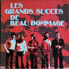 LES GRANDS SUCCES DE BEAU DOMMAGE  33T  LP