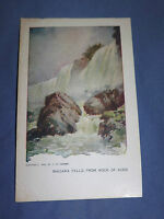 VINTAGE 1898 NIAGARA FALLS FROM ROCK OF AGES NEW YORK   POSTCARD