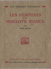RARE EO N° MAX JACOB : LES PÉNITENTS EN MAILLOT ROSES