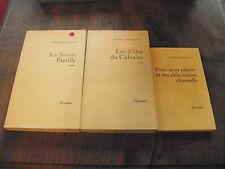 Lot de 3 livres de Pierre Combescot
