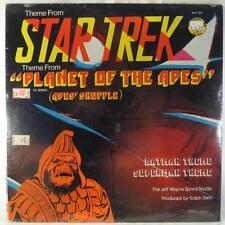 Jeff Wayne Space Shuttle: Star Wars & Planet of the Apes Sealed Lp breaks/beats