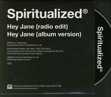 SPIRITUALIZED Hey Jane 2 TRACK PROMO CD SINGLE
