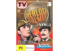 THE ADVENTURES OF SHERLOCK HOLMES VOL 1 Brand New DVD!