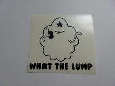 Lumpy time space princess what the lump vinyl die cut decal sticker window