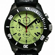 German Chronograph Combat-Diver 20bar WR DEEP-SEA T0226