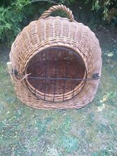 Wicker Cave Dome Cat Small Dog Carrying Basket Trixie