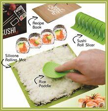 Sushi Making Kit - Full Diy Sushi Kit For The Perfect Sushi Roll + Recipe Book