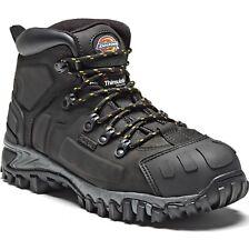 Mens Dickies Safety Boots Waterproof Steel Toe Leather Work/Hiker Sizes 6-12