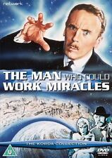 THE MAN WHO COULD WORK MIRACLES. Ralph Richardson. New sealed DVD.