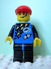 LEGO Minifig div001a @@ Divers Blue, Black Helmet, Blue Flippers 6556 6558 6559