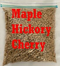 BBQ Wood Pellets Maple Hickory Cherry Blend 5 Pounds Shipped Priority Mail