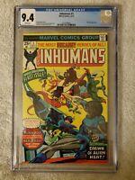 The Inhumans #1 9.4 (Oct 1975, Marvel)