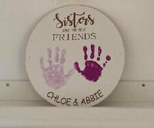 Personalised Childrens Foot or Hand Print Gift Decoration