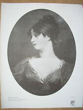 VINTAGE 1916 Print-Maria SIDDONS da Sir Thomas Lawrence