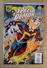 SPEED DEMON #1 FIRST PRINT DC/MARVEL COMICS (1996) AMALGAM FLASH GHOST RIDER
