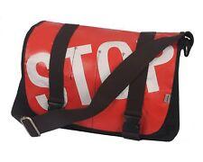 "Ducti ""Stop"" Bike Messenger Bag & Laptop Case - Red White Black"