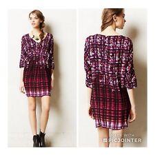 Anthropologie Petal Palette Tunic Maeve Dress Pockets Size Small