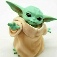 8cm The Force Awakens Star Wars Yoda Action Figure Model Mandalorian Doll Gift