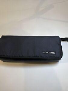 CASE LOGIC CL15 Cassette Tape Case - Stores 15 - Zippered Closure - Wrist Strap