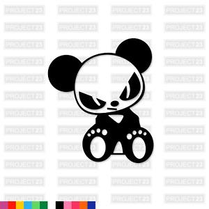 ANGRY PANDA JDM Drift Dub Vag Cute Funny Window/Bike/Car/Van Decal Sticker 061
