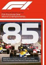 FORMULA ONE 1985 - F1 Season Review - ALAIN PROST - Grand Prix 1  - Reg Free DVD