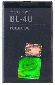 Original Battery BL-4U Lithium Ion 1000mAh For Nokia Asha 311 300 515 305 8800