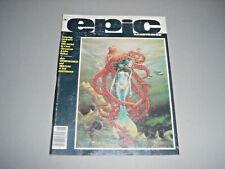 Epic Illustrated 12 Marvel Comics Vol 1 No 12 June 1982 FN 6.0 Rick Veitch
