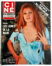 ►CINE REVUE 8/1973-SHEILA & RINGO-ROGER MOORE-WILLIAM HOLDEN-DANI GRAULE-RONET..