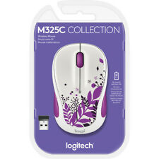 Logitech M325C Wireless Optical Mouse Purple Peace New Sealed Unopened