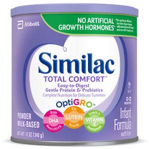 Similac Total Comfort Infant Formula with Iron, Powder 12 oz