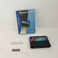 Sega Saturn Memory Card Plus Interact 8MB Direct Saving Boxed