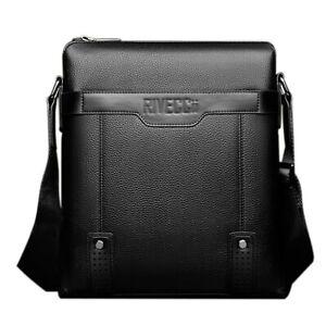 Shoulder Bag for Men. Cross-body Bag for your Phone, iPad - (Black)