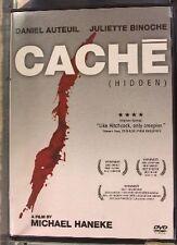 Cache (Widescreen) DVD Juliette Binoche Daniel Auteuil