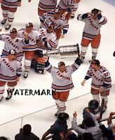 1994 New York Ranger Stanley Cup Champions Messier Color 8 X 10 Photo Picture