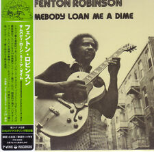 FENTON ROBINSON-SOMEBODY LOAN ME A DIME-JAPAN MINI LP CD F04