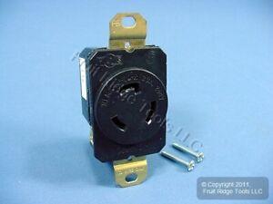 P&S Locking Receptacle L6-20R L6-20 Twist Lock Outlet Turnlok 20A 250V L620-R