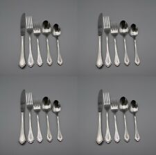 20pc SET - Oneida Stainless MARQUETTE Service for Four * CUBE