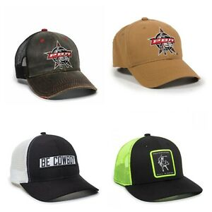 Outdoor Cap Licensed Professional Bull Riders PBR Hat OC - Choose color & style