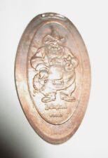 Disneyland California Black Bad Pete Pressed Penny Elongated Coin