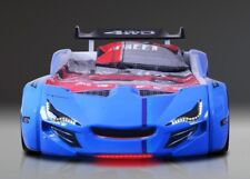 Autobett BUMER Avantgarde blau Vollausstattung  90x190