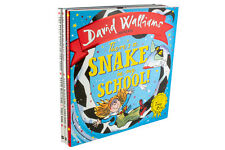 David Walliams 3 Hardback Books, There's a Snake in my School, The First Hippo o
