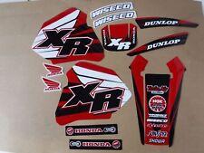 New Team  Honda Graphics XR80 XR80R XR100 XR100R 1985-2000
