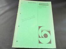Original Service Manual Bang & Olufsen Beomaster 2000
