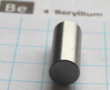 2.5 gram 99.9% Beryllium metal rod element 4 sample