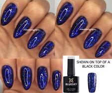 Bluesky Gel Polish Galaxy Chameleon GLITTER Flakes 05 Nail UV LED Soak Off,2FILE