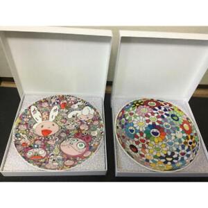 Takashi Murakami memorial plate FLOWERBALL KAIKAI & KIKI ED 300