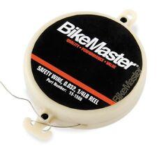 BikeMaster Motorcycle Safety Wire 1/4 lb Reel Yamaha ATV Grips Bolts MX Racing