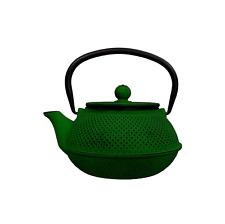 Teiera in Ghisa Smaltata Verde H&H da 800 ml